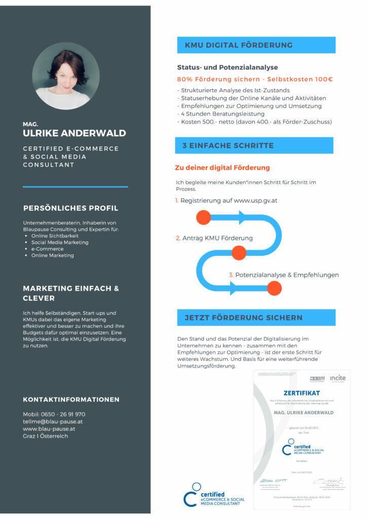 KMU Digital - Digitalberatung in 3 Schritten
