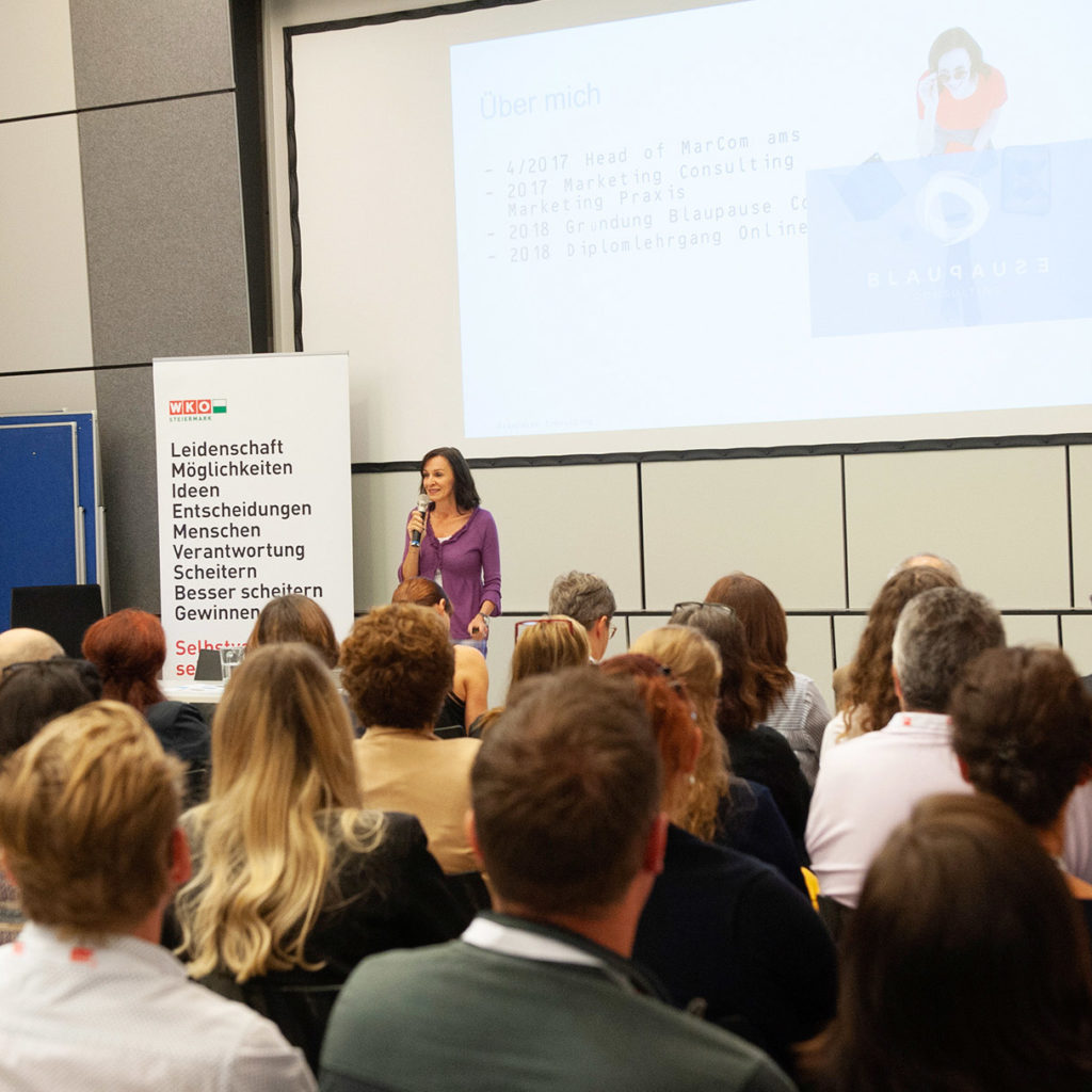 Speaker Marketing Consulting - Ulrike Anderwald - EPU Vortrag