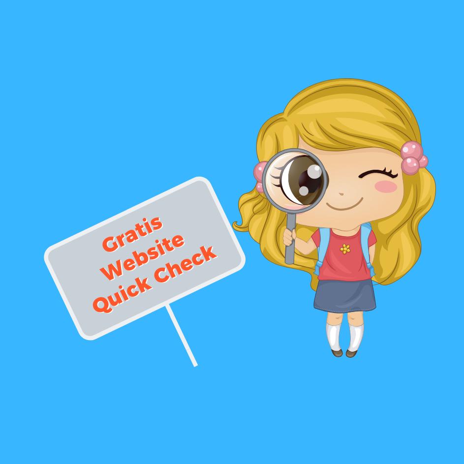 WebsiteQuickCheck-Blaupause Online Marketing Beratung